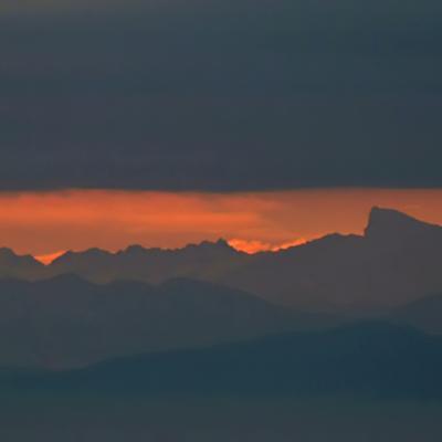 Alpes vues du Markstein  4